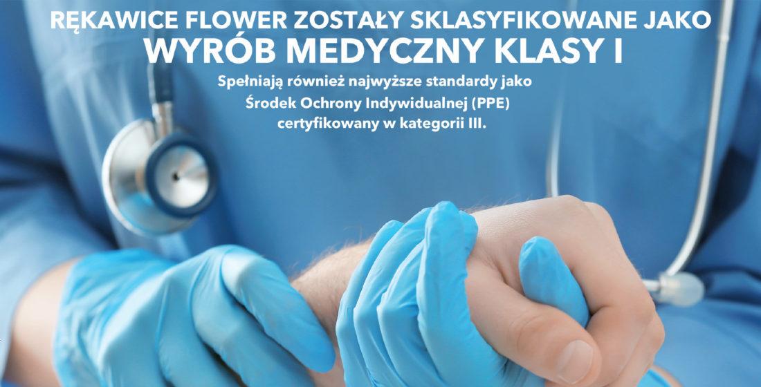 Rękawice Flower BATIST
